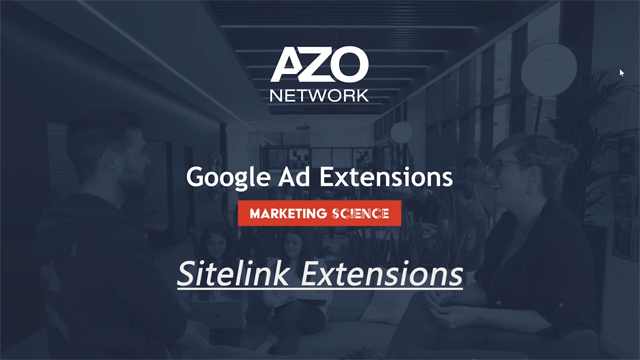 GoogleAds Sitelink Extensions How to Video