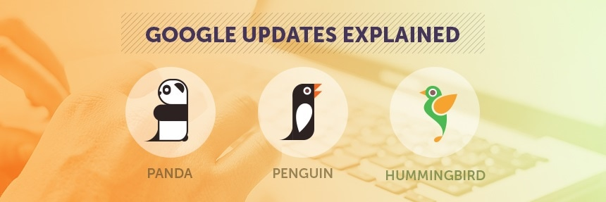 Google Updates Explained - Panda, Penguin and Hummingbird