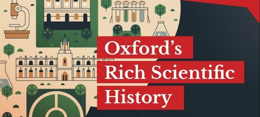 History of science engineering in Oxford infographic