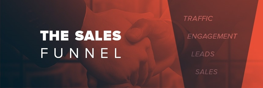 Lead generation for the sales funnel