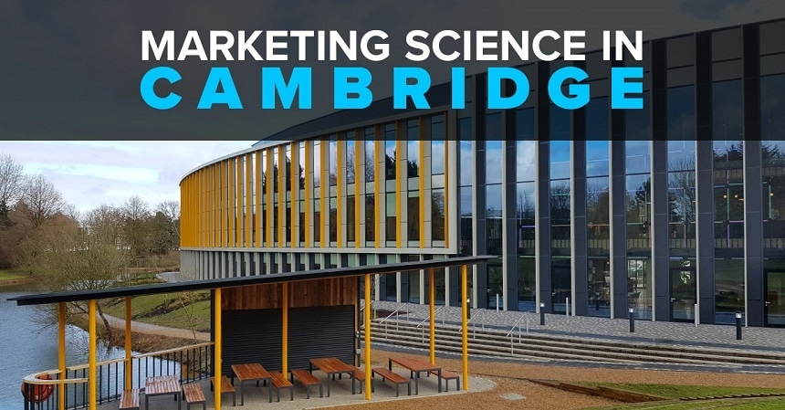 Marketing Science Roadshow in Cambridge