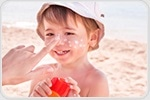 Regular sunscreen use protects young people from melanoma