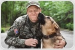 Trained service dogs are most helpful to veterans with PTSD