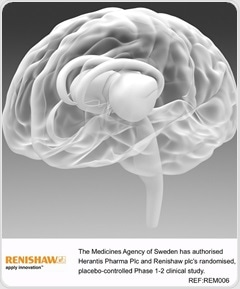 MPA approves Renishaw study into chronic drug delivery system in Parkinson's patients