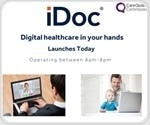 New online healthcareplatform iDoc enables patients to book consultations withGPs anytime